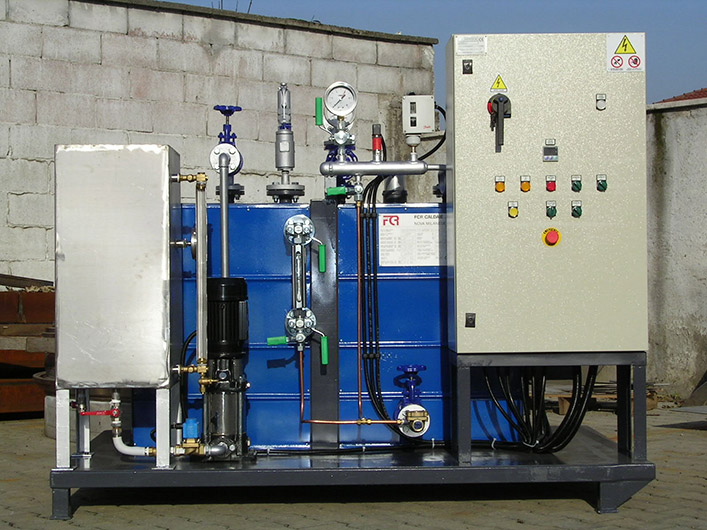 Steam Boilers - Fcr